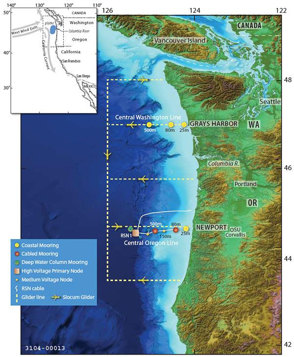 Endurance Array off Oregon