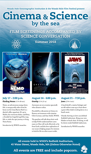Cinema and Science by the Sea