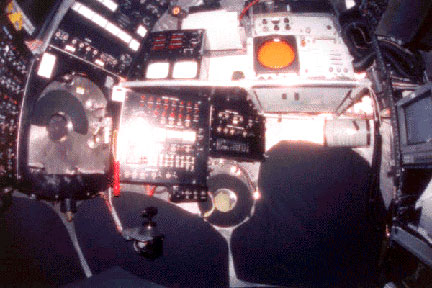 Starboard observer's position