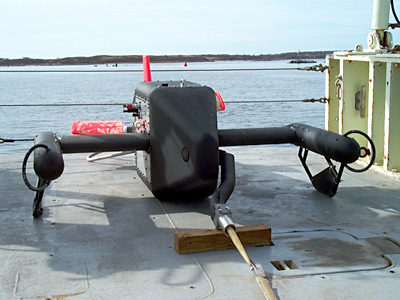 Video Plankton Recorder on the stern