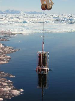 CTD in ice