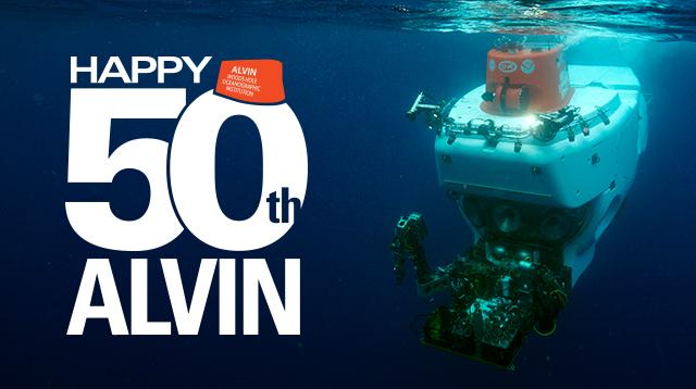 Alvin 50th