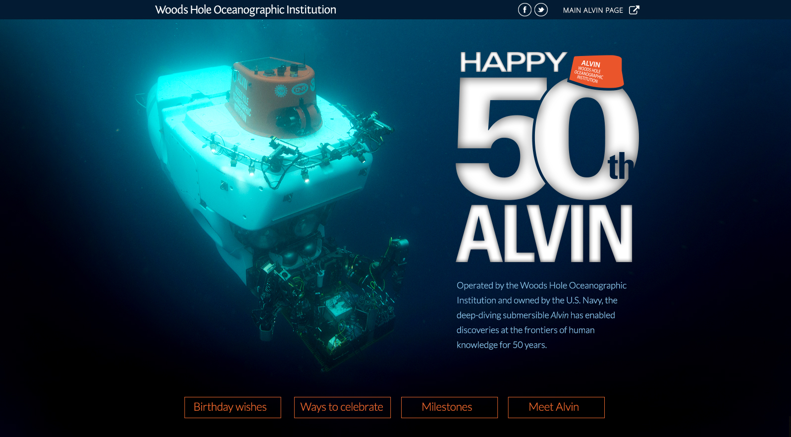 Happy 50th Alvin