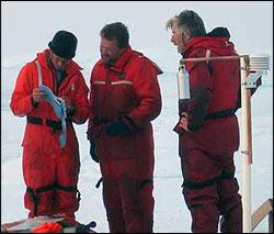Andrew Hamilton, Rick Krishfield, and Doug Sieberg