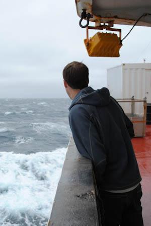 Dan stormy sea