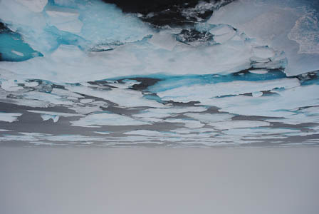 Arctic Ocean upside down