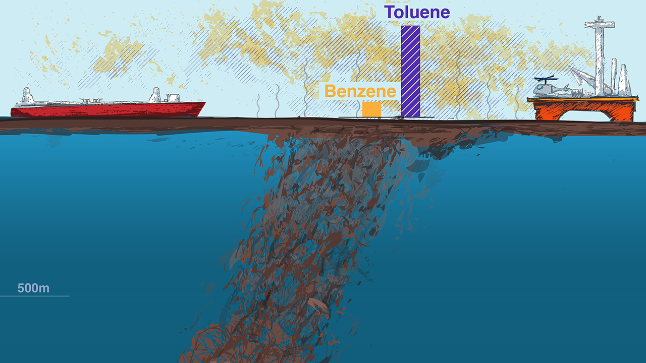 Deepwater Horizon dispersants