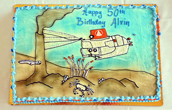Birthday cake for Alvin