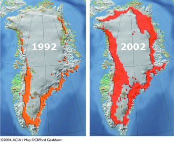 Global Warming QA Woods Hole Oceanographic Institution - Global warming rising sea levels map