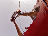 A-frame from underwater