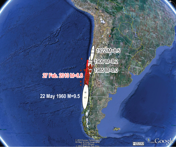 February 2007 earthquake off Chile