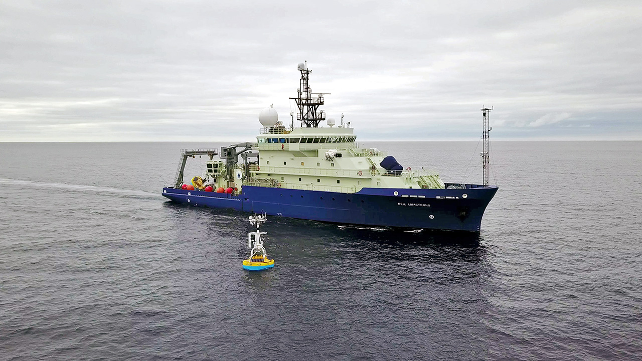 Research vessel Neil Armstrong