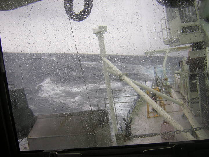 Rough Weather on Oceanus