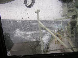 Rough Weather on Oceanus