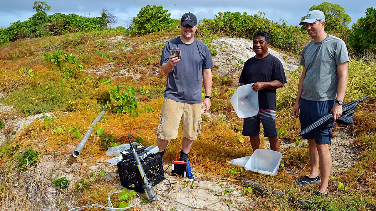 Enewetok Atoll radioactivity