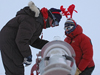 South Pole merry Christmas