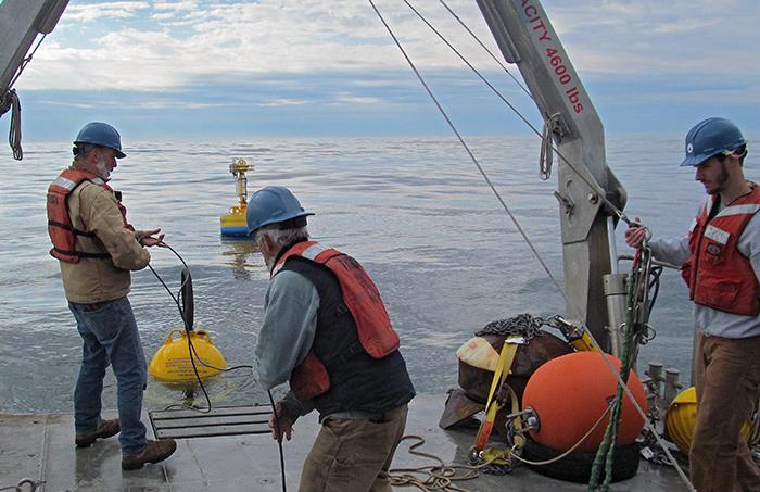 deploying an ESP to monitor harmful algae