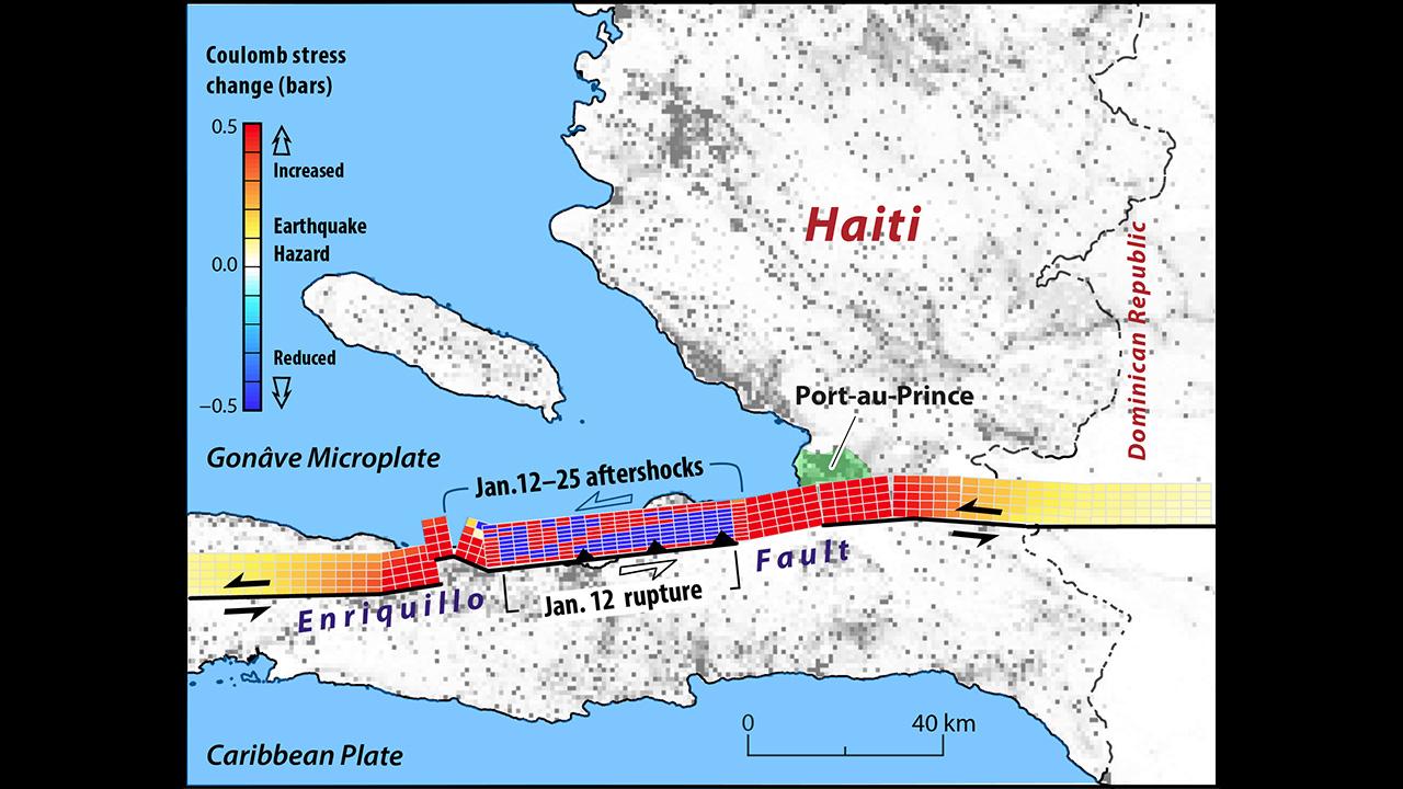 Haiti Enriquillo fault