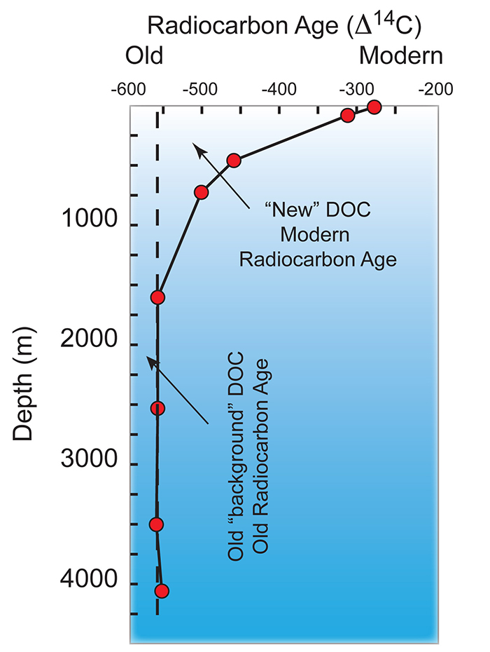 Radiocarbon and the deep ocean cycling of dissolved organic matter gallery photo zoom ccuart Images