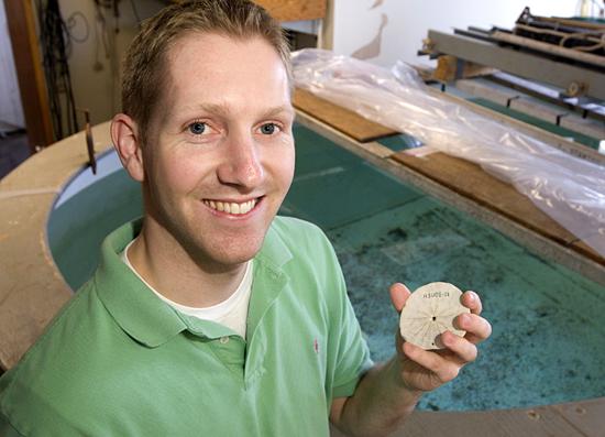 Greg Dietzen, 2007 recipient of the Rear Admiral Richard F. Pittenger, USN (Ret) Fellowship.