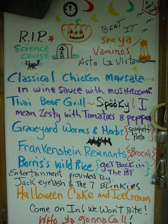 Halloween on the Oceanus in 2005