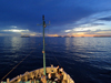 Sunset at Woleai Atoll