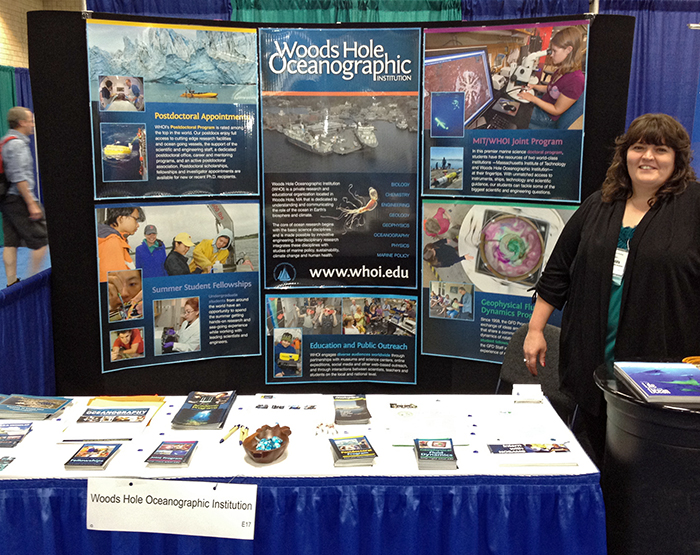 Ocean Sciences education booth