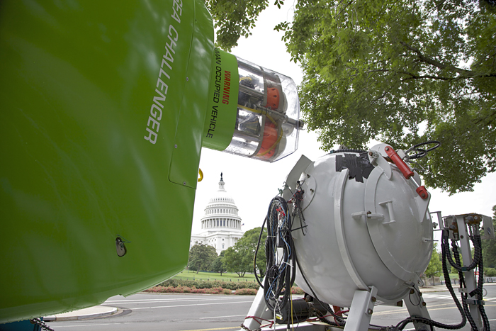 Deepsea Challenger in Washington