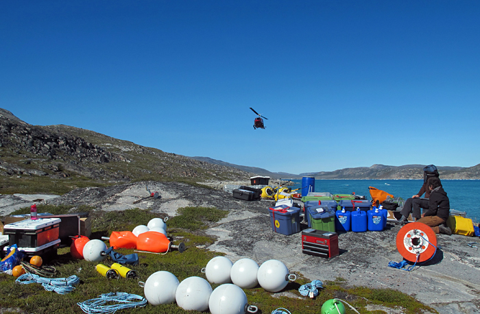 Greenland air support