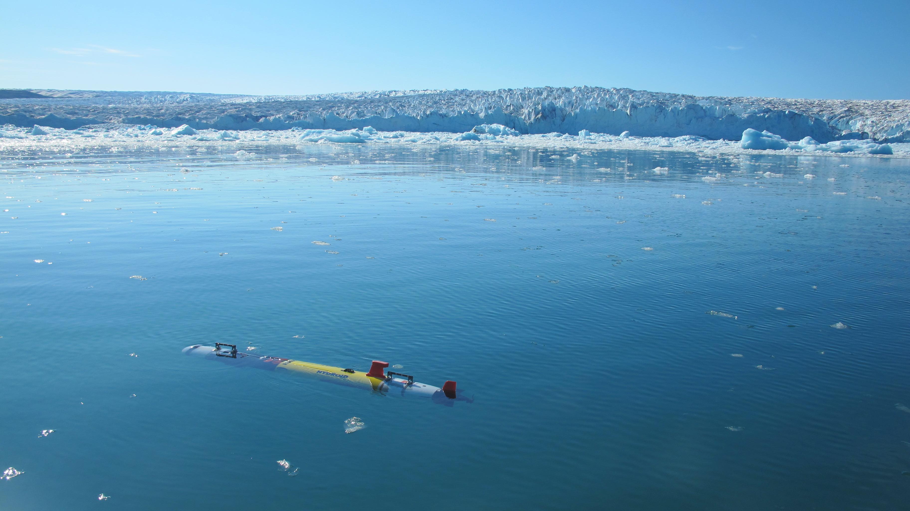Glacier Survey REMUS-100