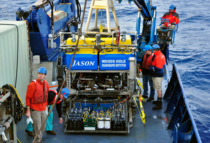 ROV Jason on RV Atlantis