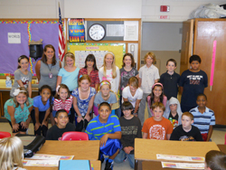 Mrs. Wiley's class.