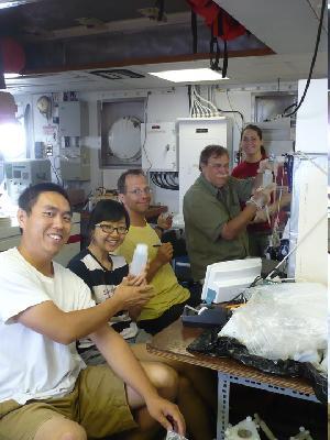 Boyle Lab on Oceanus During OC449-02