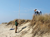 Dune and beach profiling on Nantucket.