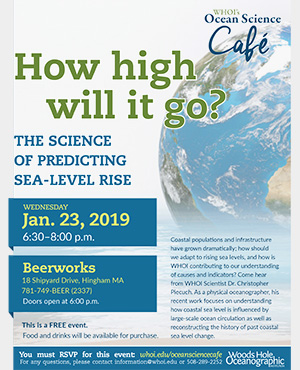Ocean Science Cafe - Sea Level Rise
