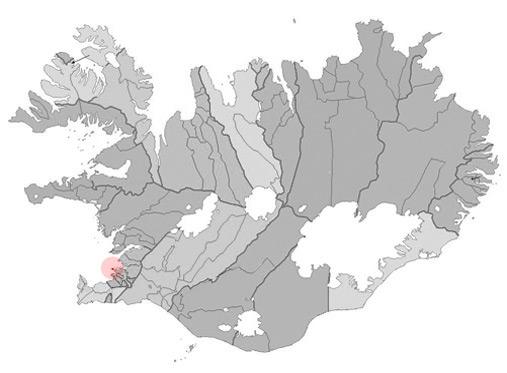 Seltjarnarnes, Reykjavik, Iceland map