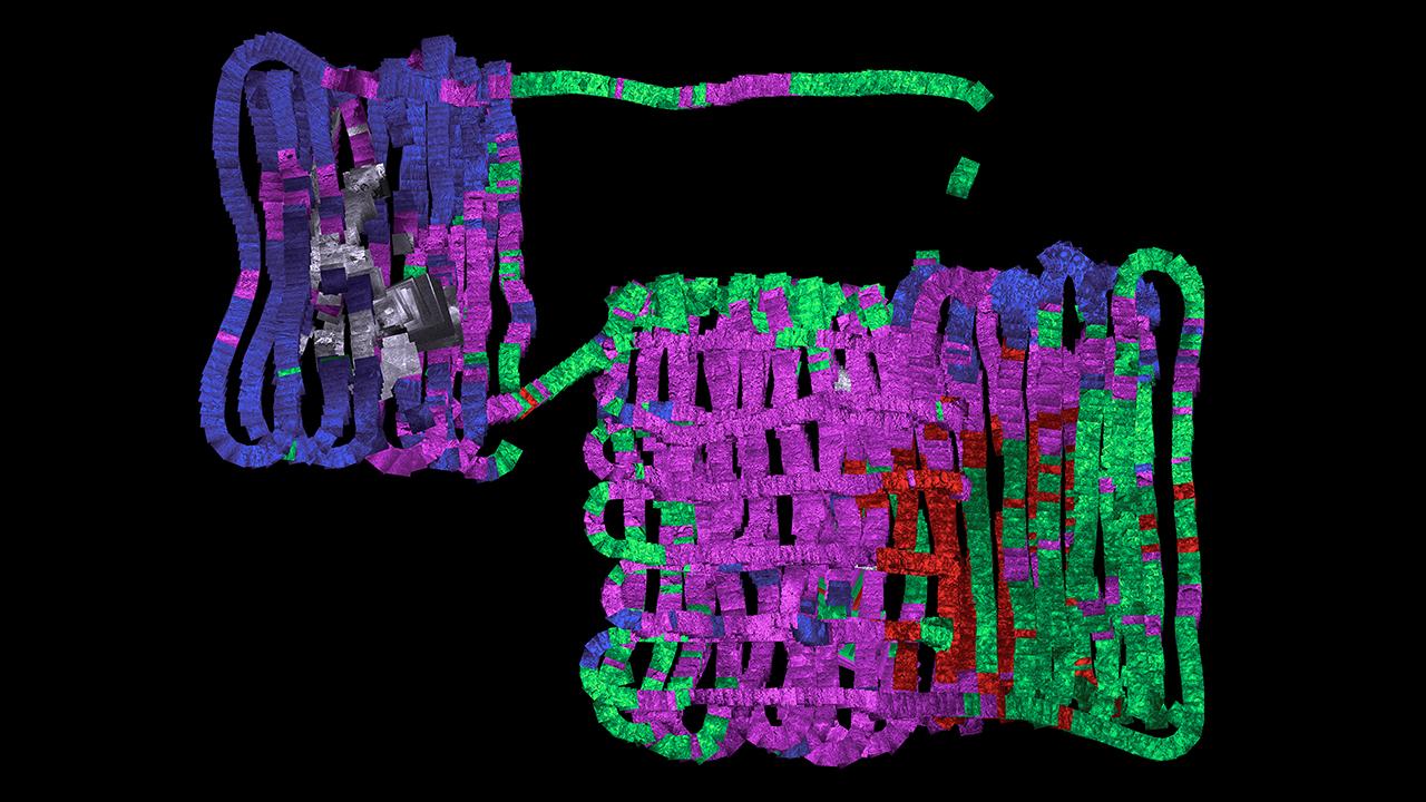 Autonomous Benthic Explorer map