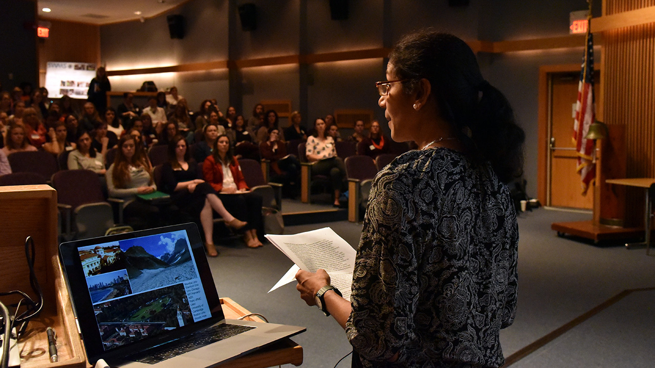 Society for Women in Marine Science symposium