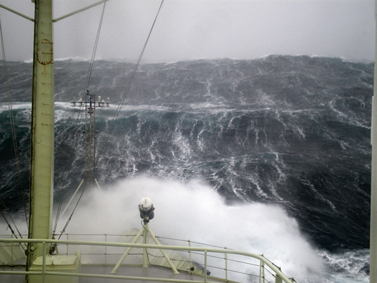 ocean swell off knorr
