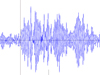 East Coast Seismogram