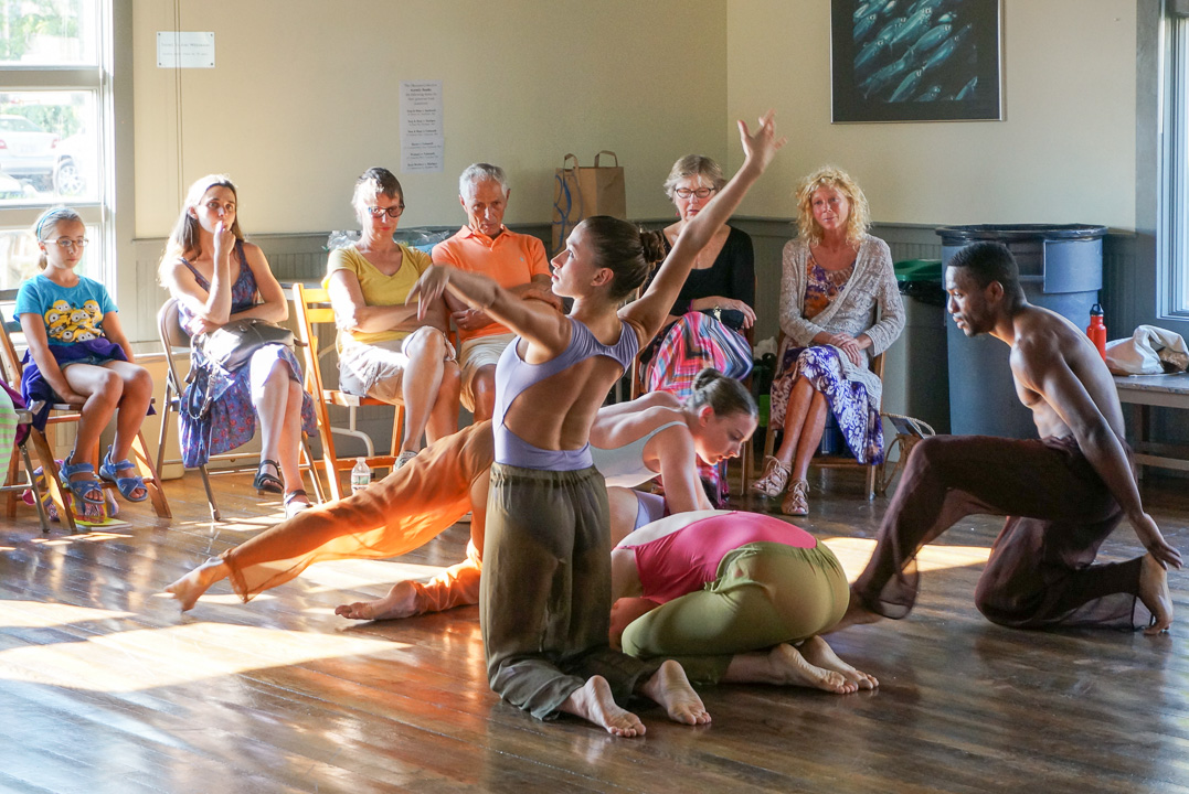 Workshop and Performance in Woods Hole, July 2014