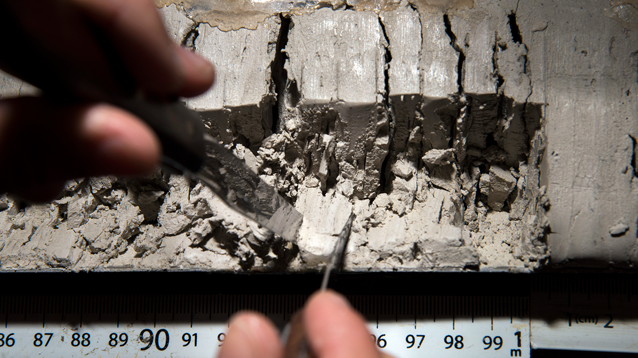 Sediment sampling