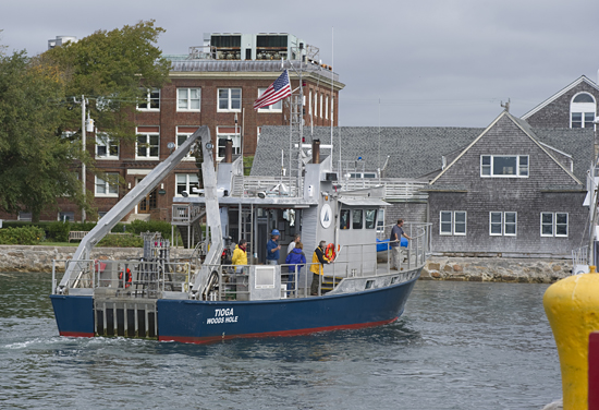 Tioga,  Buzzards bay, multicorer