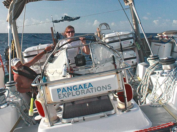 Alice Alpert sailing