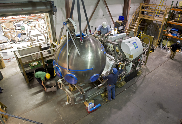 Alvin reassembly