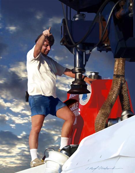 Pilot Pat Hickey