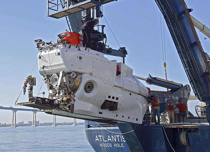 Alvin launch