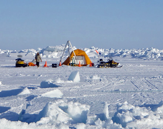 ice camp, barrow
