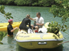 Researchers traveled to the U.S. Virgin Islands to collect seaweed that host algae that cause ciguatera fish poisoning.