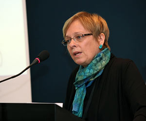 Susan Avery speaks at Copenhagen